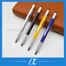 Screw Tech Tool Multifunction Metal Touch BallPen Ruler Pen Pecils with Level