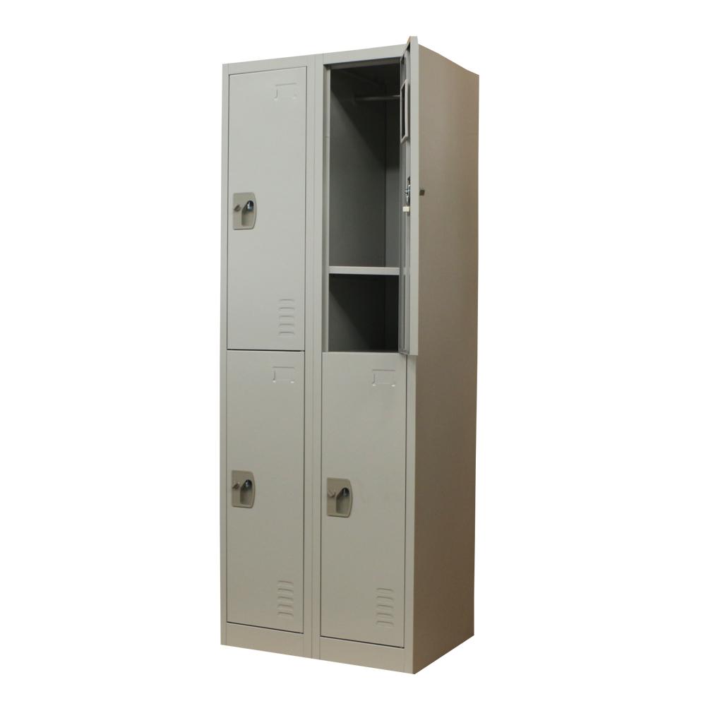 Usine directe vente quatre porte verrouillable m tal for Meuble porte verrouillable