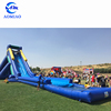 Commercial giant hippo inflatable water slide for adult