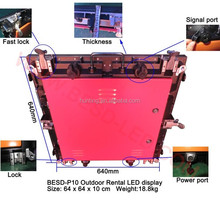 led display indoor/outdoor cabinet sell hot P5, P6 / P8 / P10 / P12 / P16 full color/P20 / P15 rental led screen