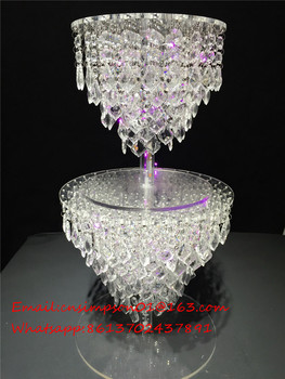 Acrylic Crystal Wedding Chandelier Cake Stand Buy Acrylic Crystal - Chandelier acrylic crystals