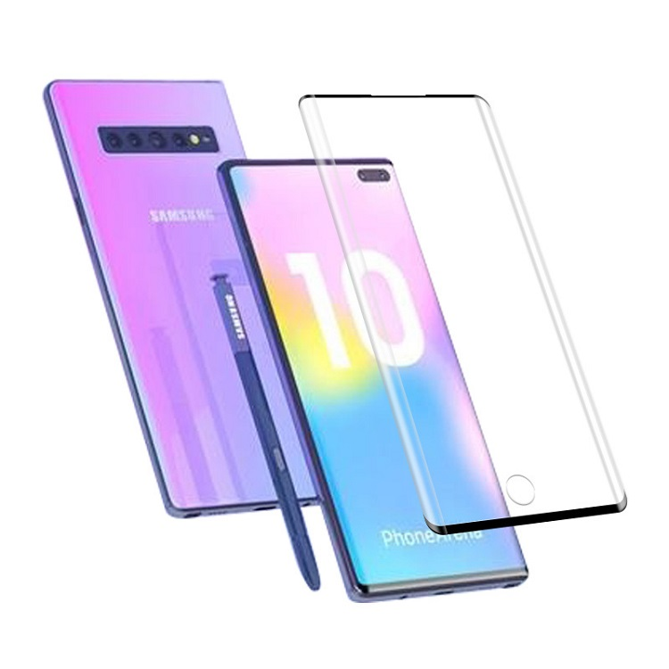 3D Full Coverage Tempered Glass For Samsung Note 10 Pro Protection Screen Protector Note 10