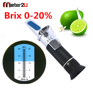 China Hand-held Pocket Brix Refractometer