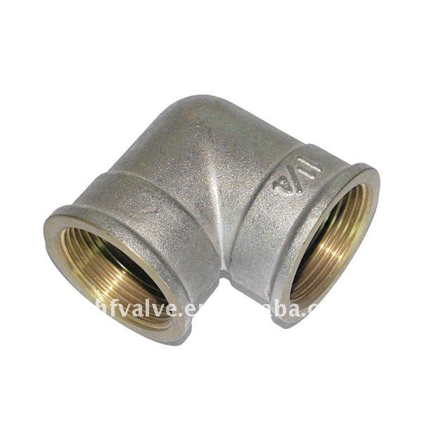 90 degree Brass fitting Elbow Nipple