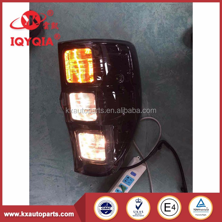 China manufacturer clear tail auto lamp for FORD RANGER 2012-2014