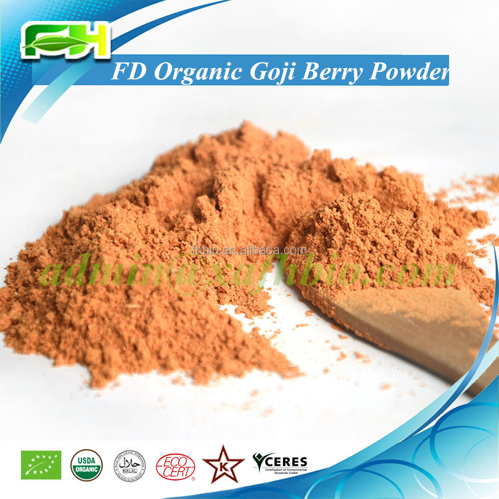 2016 New Superfood Certified Freeze Dried Organic Goji Berry <strong>Powder</strong> (100 grams of samples free of charge)