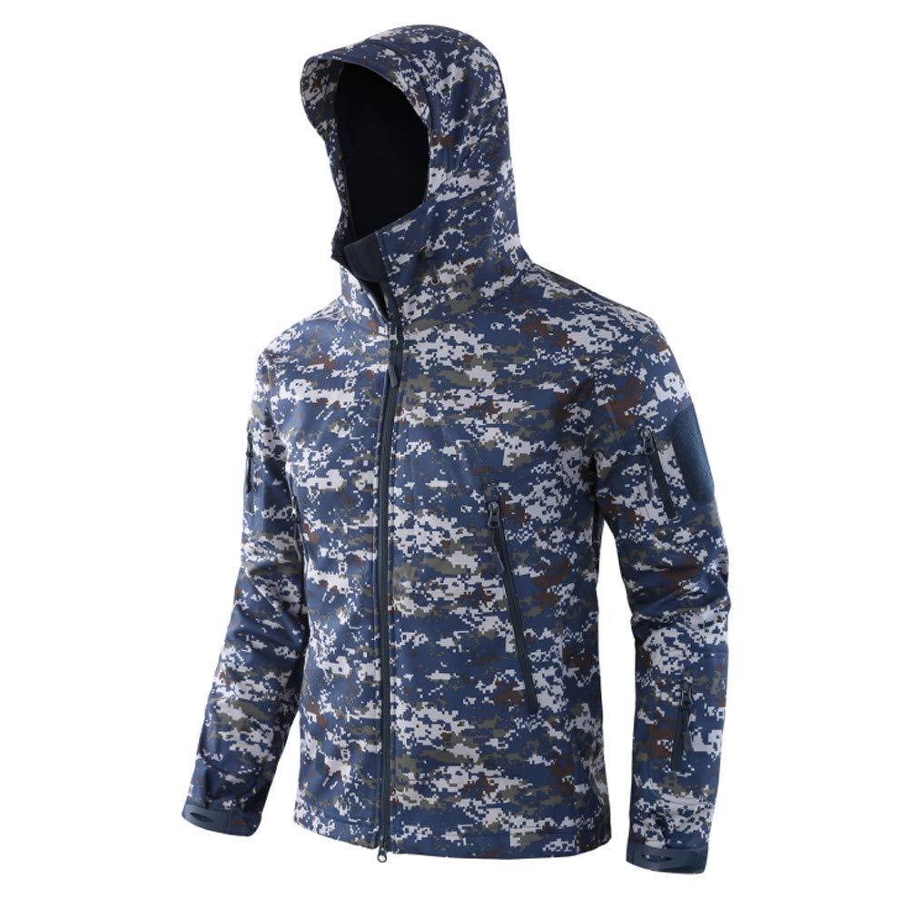 Sports Uniform-Men's Mountain Waterproof Ski Jacket Windproof Rain Jacket Hooded