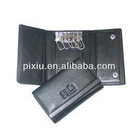 Wholesale fashion leather key fob case