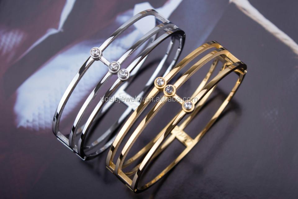 New Gold Jewelry Fashion Replica Jewelry Mens Leather Bracelets