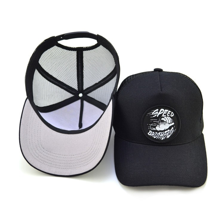 Custom Embroidery Blank Patches Cap Trucker Hat