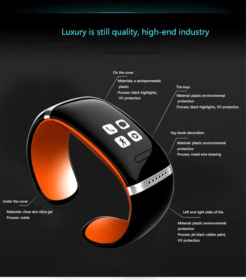 Bluetooth-смарт часы наручные часы браслет для iPhone samsung LG HTC # PIC-30