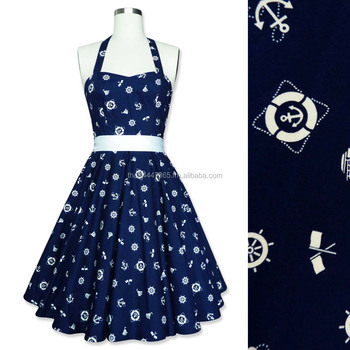 e910b295f8 Rockabilly 50s Sailor Nautica Corset Petticoat Gothic Retro Punk Emo Pin Up  Vintage Party Swing Dress