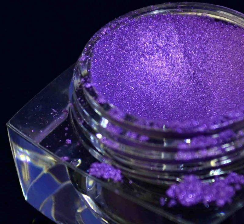 Glitter Mica Purple Candy Pearl Pigments For Car Paint