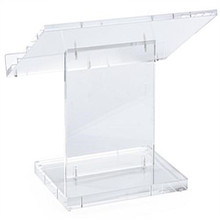 Tabletop cheap Acrylic Podium Pulpit Portable Lectern