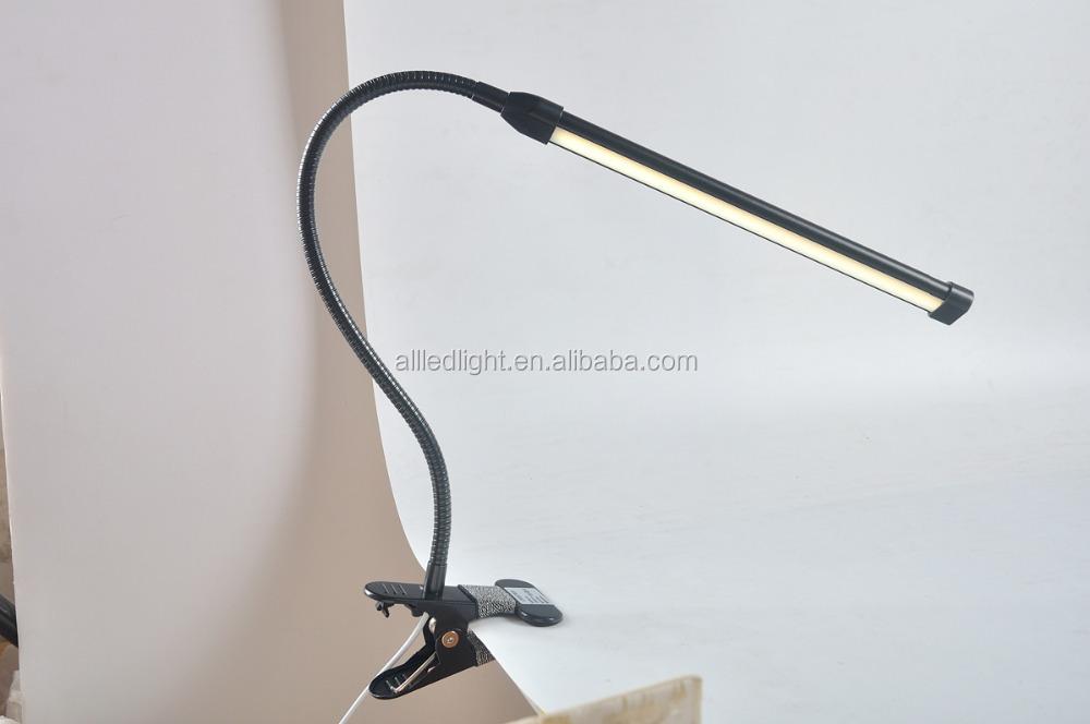 dimmable flexible usb lecture r glable led solide clip lampe de bureau pour ordinateur portable. Black Bedroom Furniture Sets. Home Design Ideas