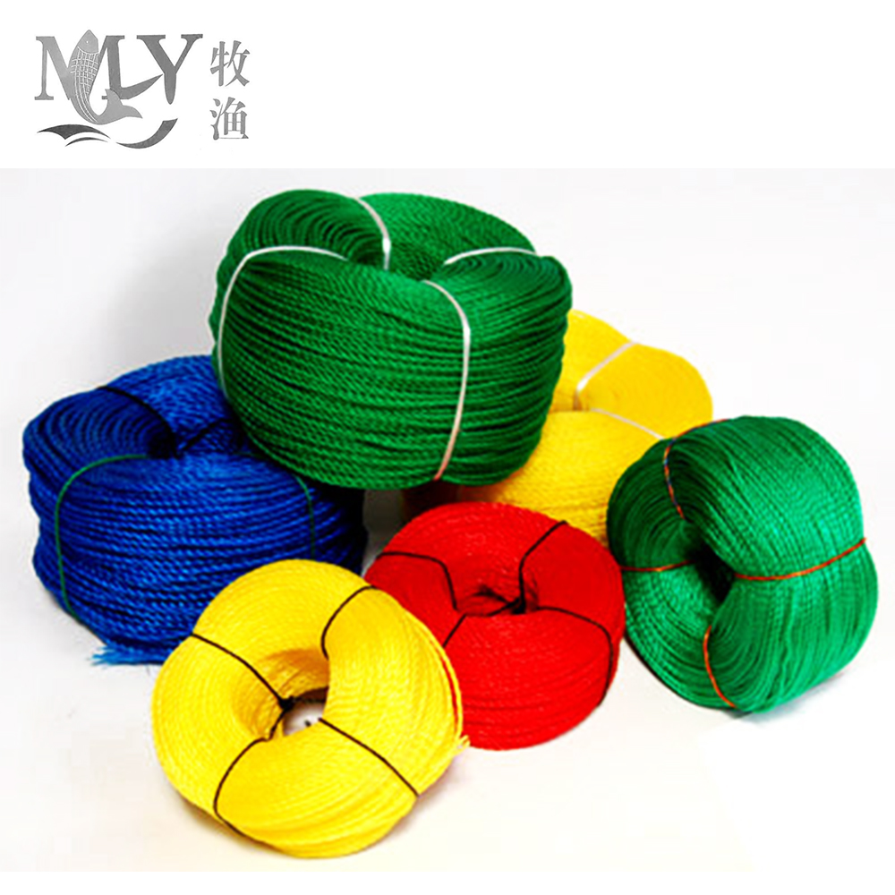 made in china pe rope for agriculture baler twine/fishing net