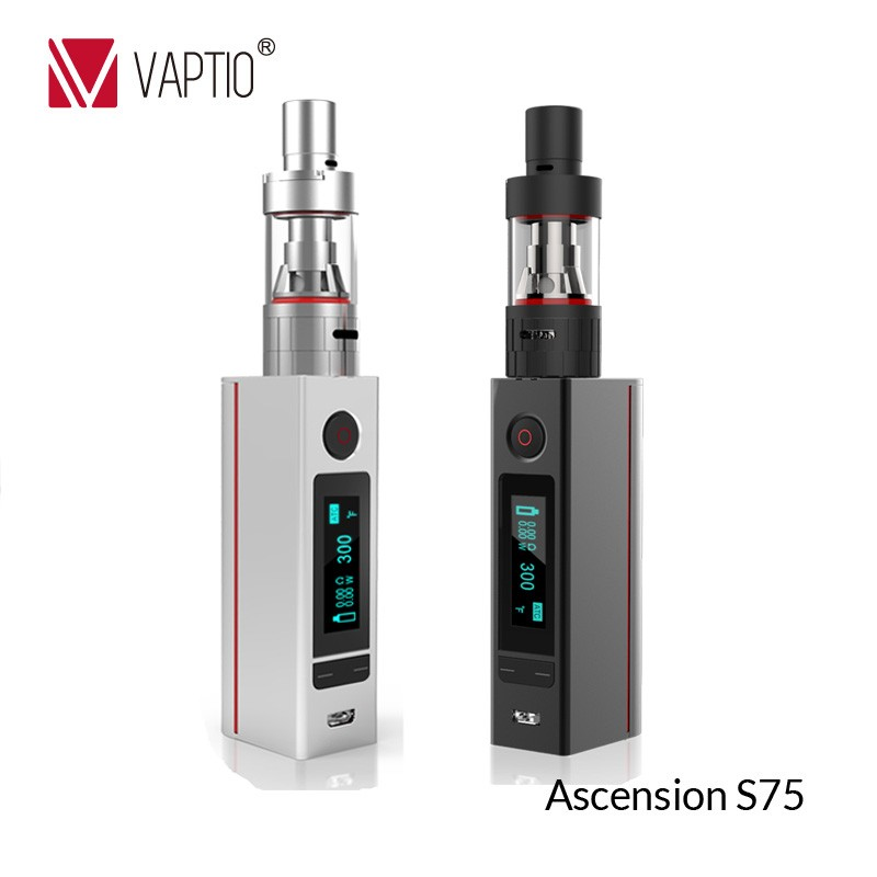 Best price e-health el eletronic cigarette evod battery Vaptio 75W ATC smokeless electric e cigarette Korean