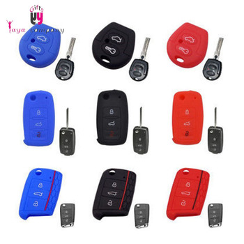 High quality custom oem Food grade silicone car key cover