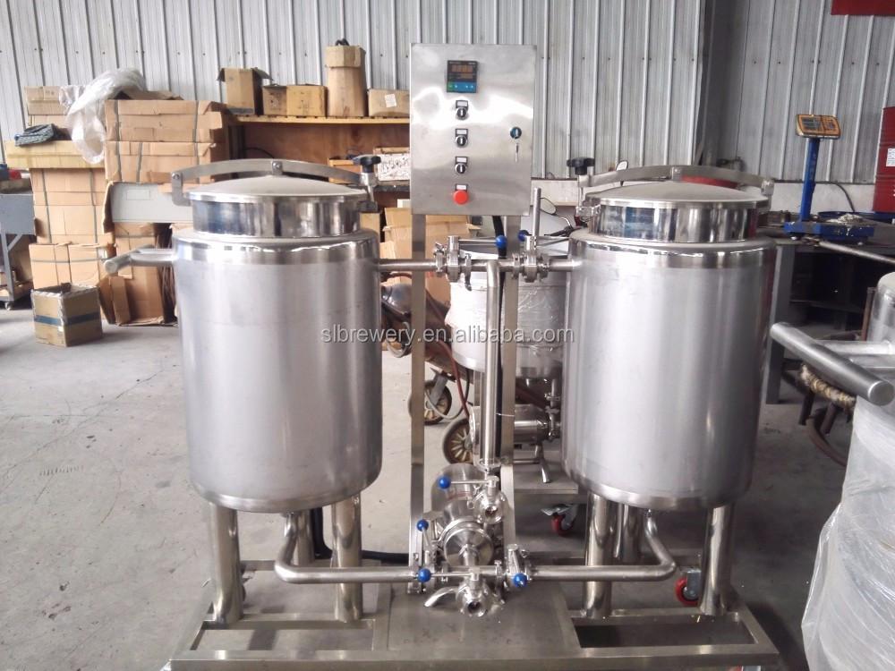 Бесшовная сварка 50l-5000l коммерческое пивоваренное оборудование для продажи с аэрозольной балкой