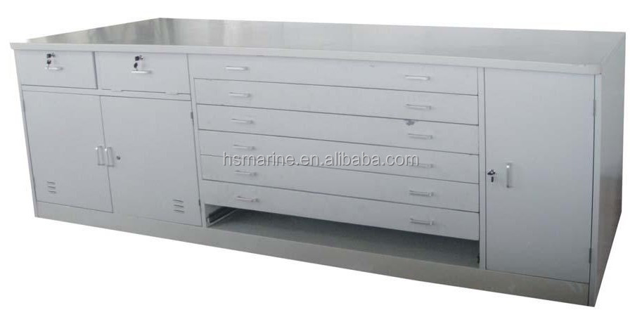 High quality aluminum marine chart table for ship buy for Table 6 usmc