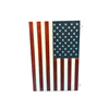 Wooden flag wall art pictures for living room wooden print retro vintage american flag