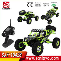 2017 New Wltoys WILD TRUCK 10428 1:10 RC Truck Electric Four-Wheel Climbing Racing RC Drift Car On Sale
