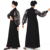 2019 new design online shopping OEM premium black long sleeve maxi  modest clothing dress women fashion abaya