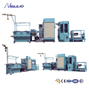 21DTA(0.1-0.3MM) EDM Brass Wire Copper Alloy Wire Drawing Machine With Online Annealing & Automatic Spooler