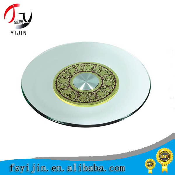New designed round dining table lazy susan for wedding/hotel