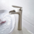 Brushed classic brass antique faucet taps waterfall bathroom basin faucet