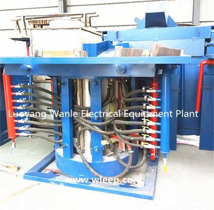 0.5T Steel Shell IF Induction Aluminium Melting Furnace