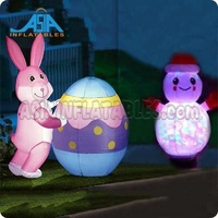 Inflatable cartoon for event decoration led inflatable lighting animal decoration
