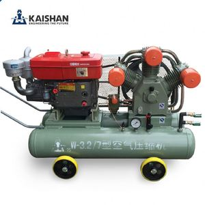 High duty kaishan VF 247cfm 98psi portable mining piston air compressor jack hammer for mining