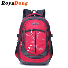 RoyaDong Large School Bags for Boys Girls Children Backpacks Primary Students Backpacks Waterproof Schoolbag Kids Book Bag