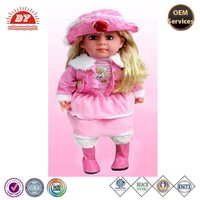 baby product with beautiful dress and shoes product ODM china factory cheap supply with ICTI certification