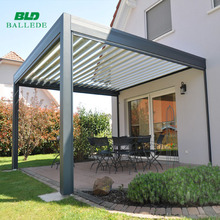 Louvered Roof Patio Cover, Louvered Roof Patio Cover Suppliers And  Manufacturers At Alibaba.com