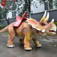 Cet-A-273 Cetnology Animatronic Dinosaur Walking Animals Kiddie Rides for shopping mall