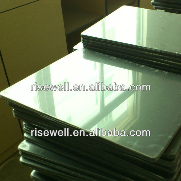 Galvanized metallic plastic metal laminate sheet