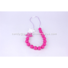 Factory Price round shape pendant teether for wholesales