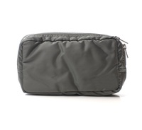 wholesale quilted nylon travel cosmetic toiletry Dopp kit pouch bag
