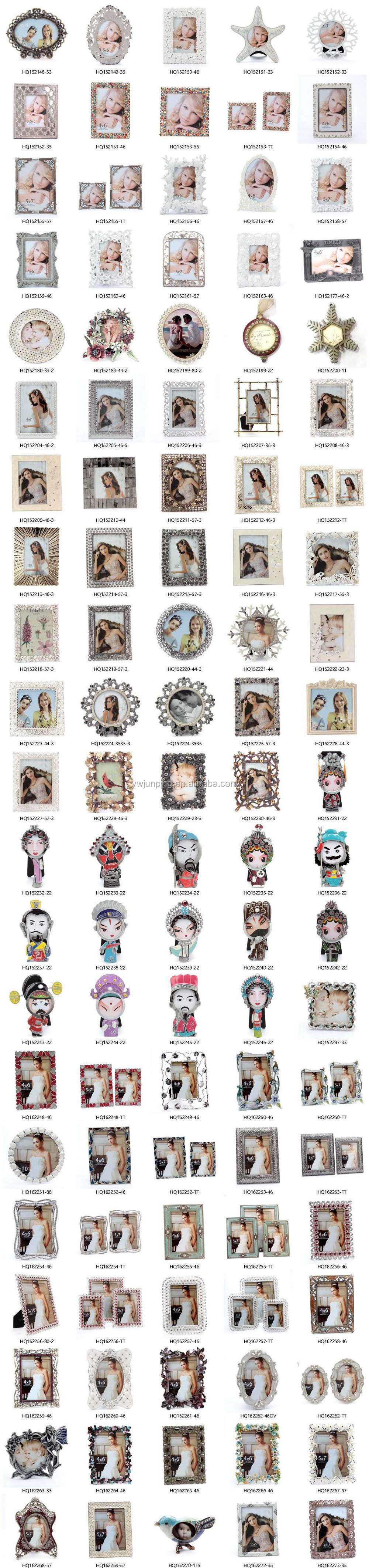 metal indian customized wholesale funia beautiful girl photo frame