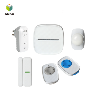 Free sample home security Intelligent gsm alarm system for Android/IOS
