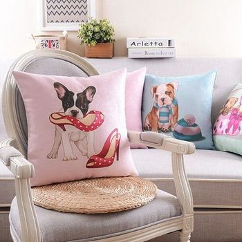 Custom Sublimation Heat Transfer Printing Sofa Cushion