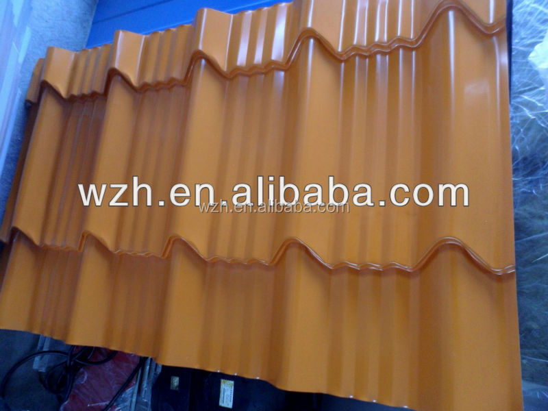 Most popular color coated steel sheet roofing sheet in kerala /thermal roofing sheet /garden shed
