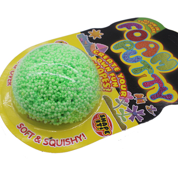 Homemade Foam Putty Sensory Activities Toys For Kids Diy Toy Diy