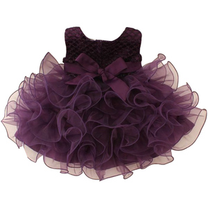 2286787aeba53 wholesale kid clothing summer 1 year old baby party girls one piece dress  cute baby girls