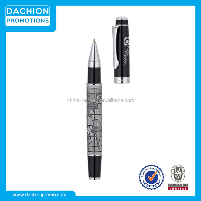 World map design bettoni rollerball pen source quality world map promotional world map design bettoni rollerball penfarrowing pen designcontour promotional pens gumiabroncs Images