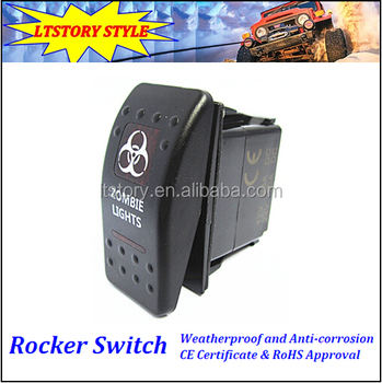 Carling Switch Momentary Three Position Switch Momentary Spring