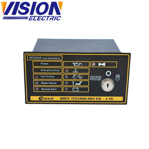 Generator Remote Start Controller 520A Genset Control Panel 520A