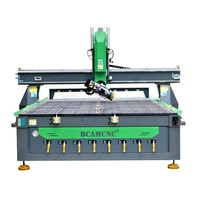 Italy spindle cnc router for wood kitchen cabinet door BCM1325D disc auto tools changer
